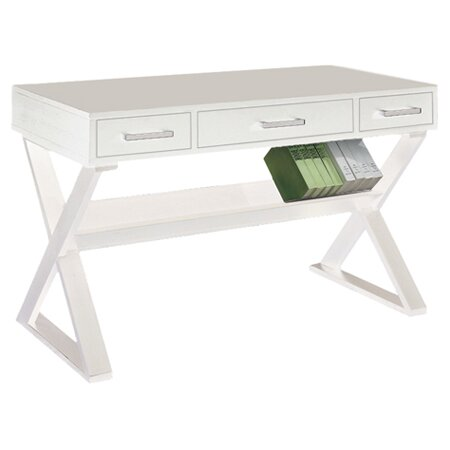 Bicknell 3 Drawer Writing Desk