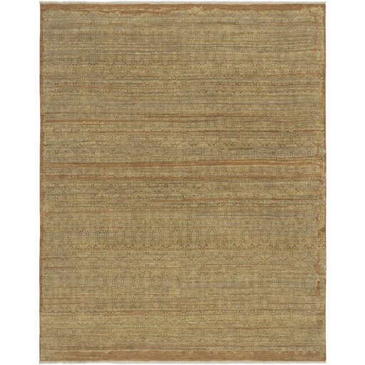 Dulac Hand Knotted Wool Camel Area Rug by Laurel Foundry Modern Farmhouse