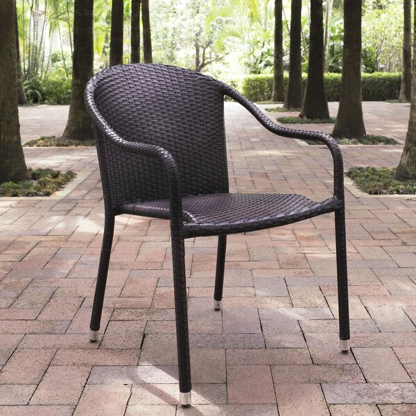 Belton Stacking Patio Dining Chair (Set of 4) by M