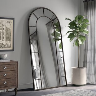 Greyleigh Vertical Silhouette Black Accent Wall Mirror