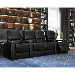 Home Theater Loveseat (Row of 4)  sc 1 st  Wayfair & Loveseat Theater Seating Youu0027ll Love | Wayfair islam-shia.org