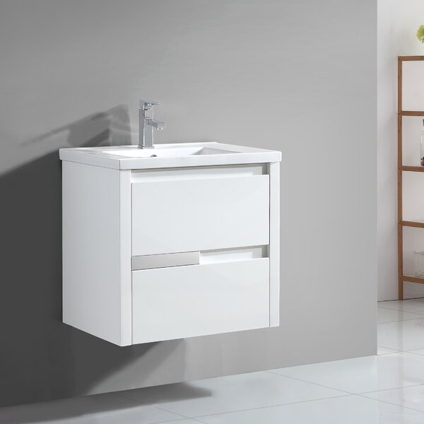 Cesarino 24 Single Bathroom Vanity Set by Ove Decors