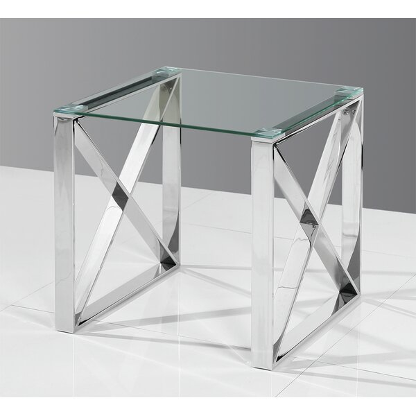 Chris End Table by Orren Ellis