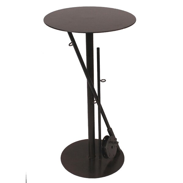 Joshua Iron Fishing Pole Pub Table by Millwood Pines