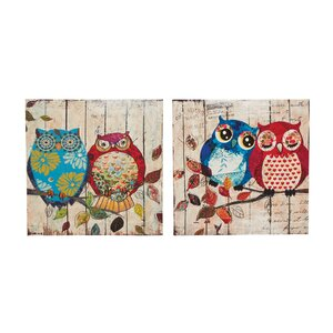 2 Piece Graphic Art on Canvas Set (Set of 2) by Cole & Grey
