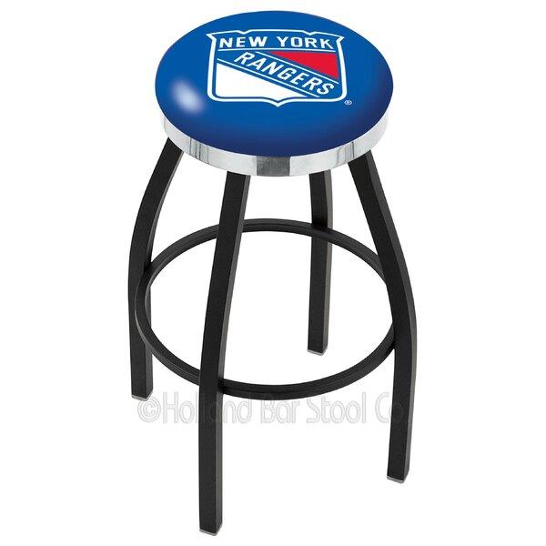 NHL 36 Swivel Bar Stool by Holland Bar Stool