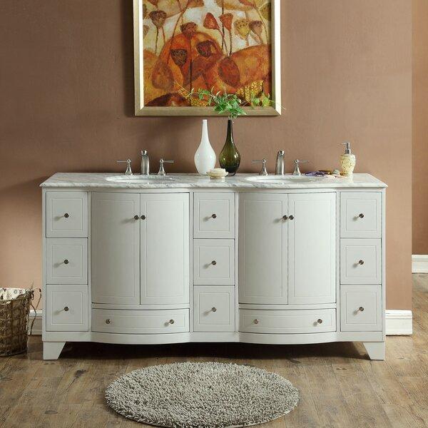 New London 72 Double Bathroom Vanity Set by Winston Porter