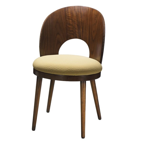 Kelemen Solid Wood Dining Chair by Bayou Breeze
