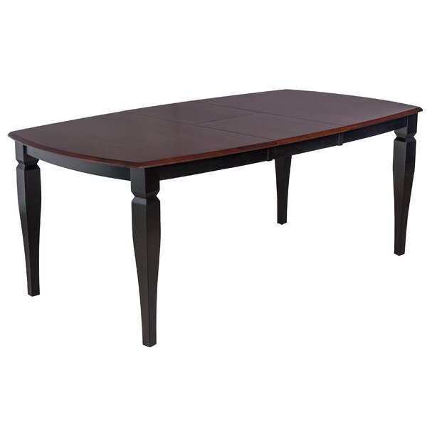 Victoria Extendable Solid Wood Dining Table by TTP Furnish