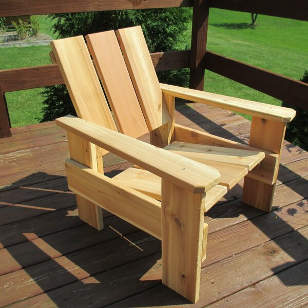 Fenella Cedar Patio Chair by Loon Peak