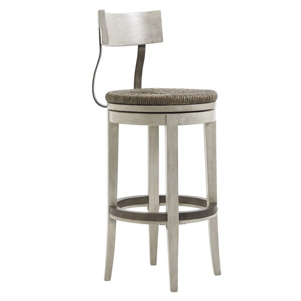 Oyster Bay 30 Swivel Bar Stool by Lexington
