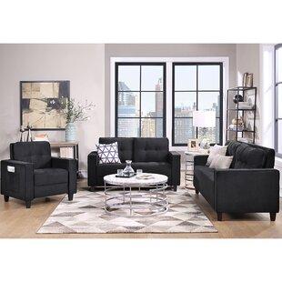 Grey Sectional Sofa Set(1+2+3-Seat) by Latitude Run®