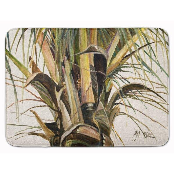 Birger Top Coconut Tree Memory Foam Bath Rug