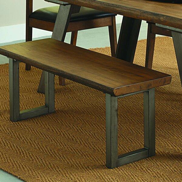 Gandara Wood Bench By Brayden Studio 2019 Sale