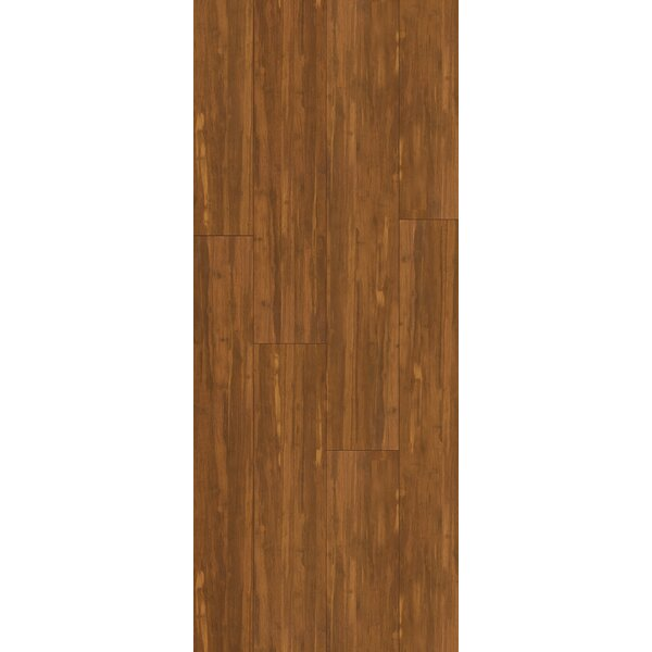 5 Engineered Bamboo Flooring in Mocha by Bamboo Hardwoods