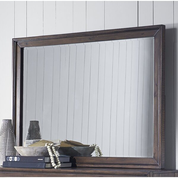 Van Reipen Modern & Contemporary Beveled Dresser Mirror by Millwood Pines