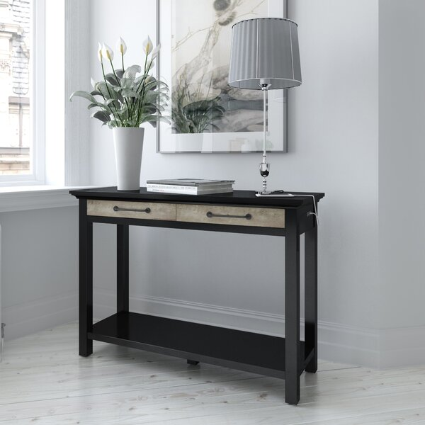 Check Prices Mohammad 47.25 Console Table by Laurel Foundry Modern Farmhouse