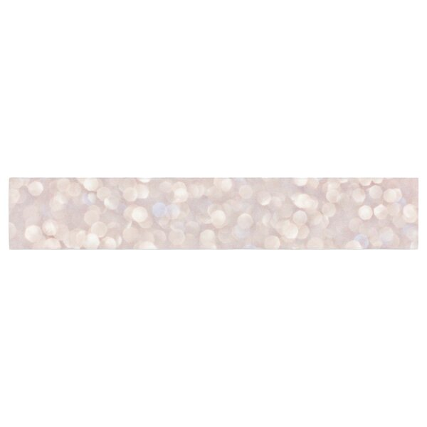 Debbra Obertanec Magical Glitter Table Runner by East Urban Home