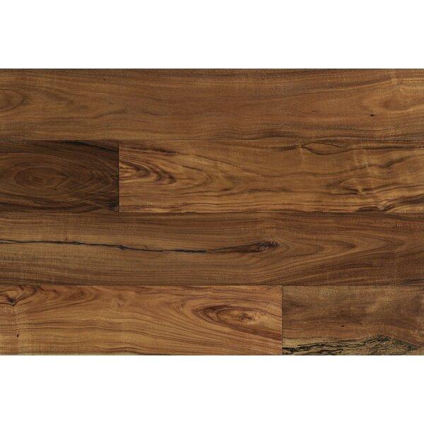 Alexander 7-1/2 Engineered Acacia Hardwood Flooring in Brown by Majesta