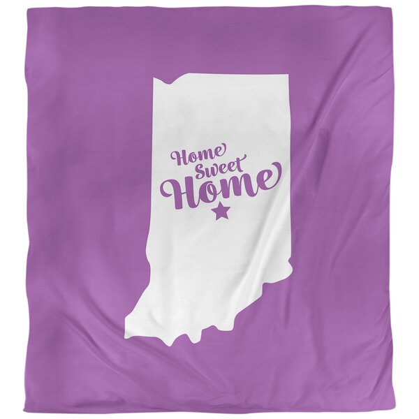 Indianapolis Home Sweet Single Duvet Cover