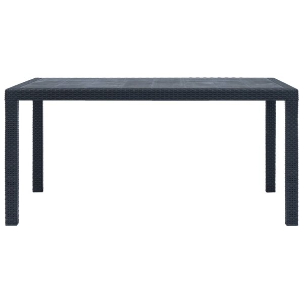 Screven Plastic Dining Table by Bay Isle Home