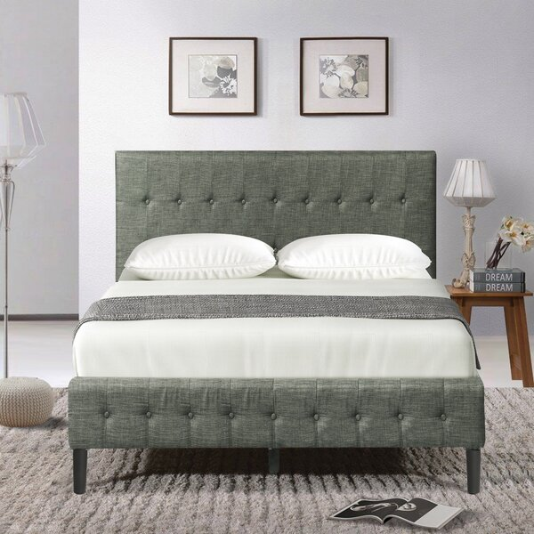 Sessa Queen Upholstered Sleigh Bed by Latitude Run