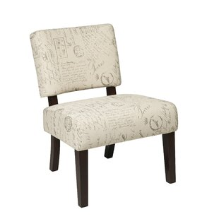 Big Save Jasmine in Script Guest Chair by Office Star Products