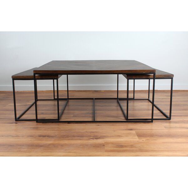 Orlowski 3 Piece Coffee Table Set by Williston Forge