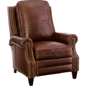 Aaron Leather Recliner by Bradington-Young