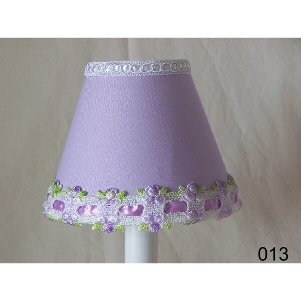 Venise Lace 11 Fabric Empire Lamp Shade by Silly Bear Lighting