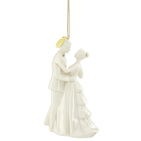 2017 Bride and Groom Hanging Figurine Ornament by