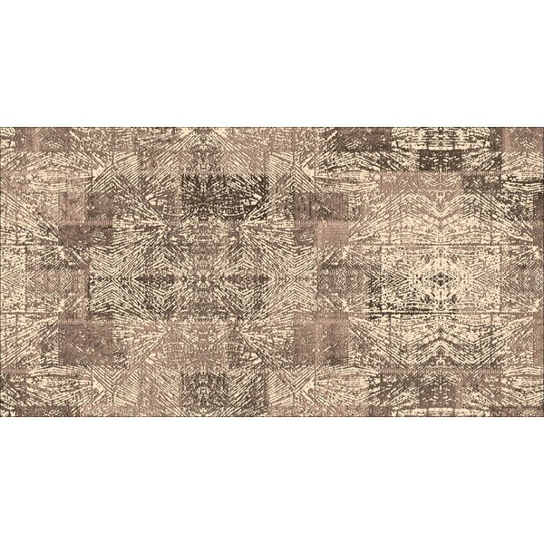 Deeley Brown Indoor/Outdoor Area Rug by Mercer41