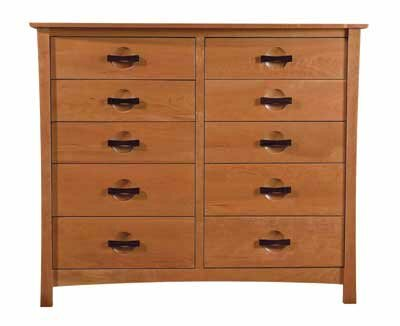 Berkeley 10 Drawer Double Dresser by Copeland Furniture