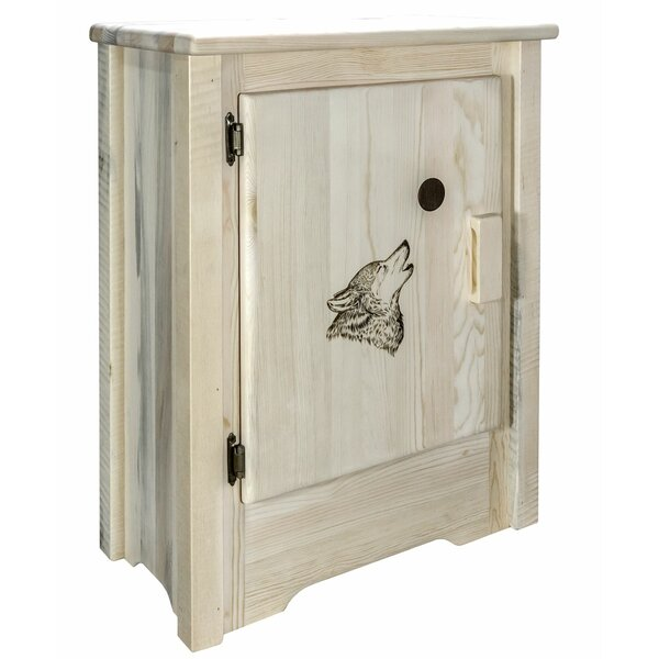 Abella 1 Door Accent Cabinet by Loon Peak Loon Peak