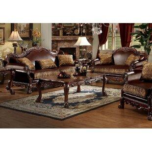 Lizbeth 2 Piece Faux leather Living Room Set by Fleur De Lis Living