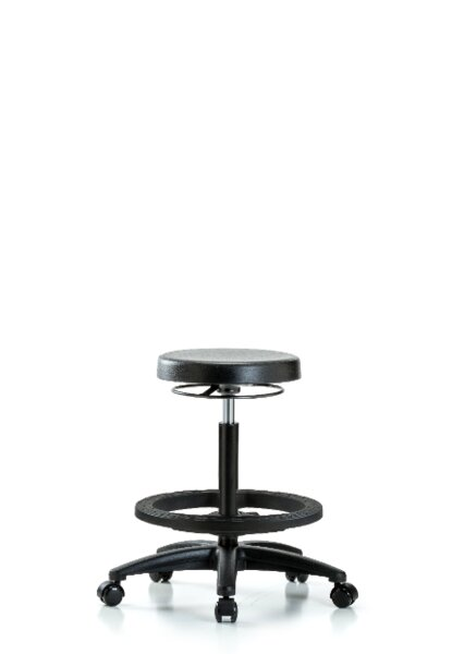 Sarahi High Bench Height Adjustable Lab Stool by Symple Stuff