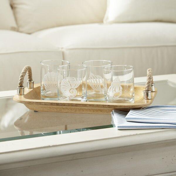 Seashell Etched Rocks Glasses (Set of 4) by Birch Lane™
