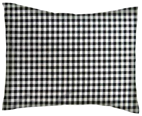 Darian Gingham Check Cotton Percale Pillowcase by Viv + Rae