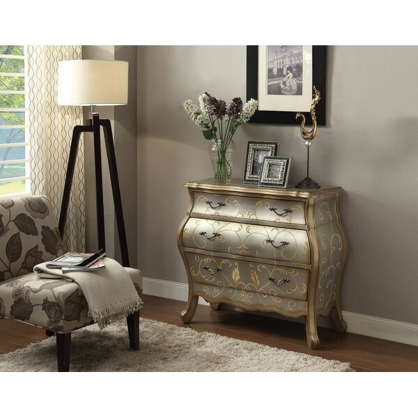 Ragsdale Bombay 3 Drawer Chest by Astoria Grand Astoria Grand