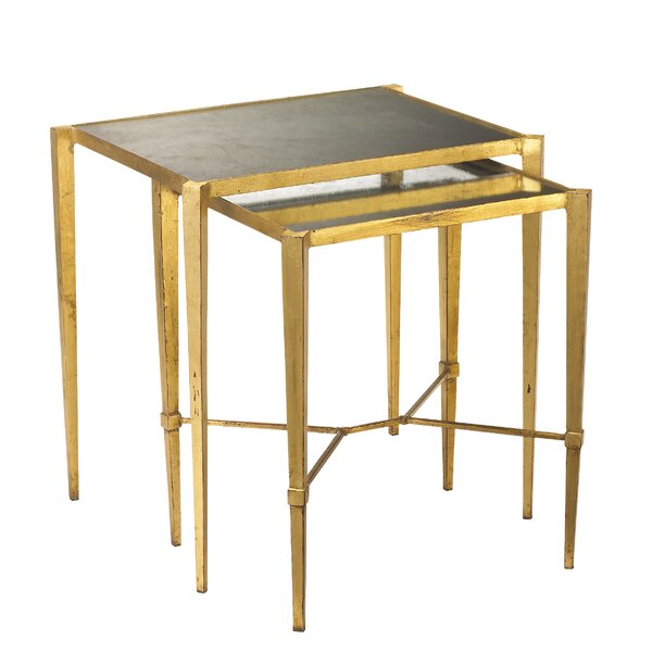 Kepley 2 Piece Nesting Tables By Everly Quinn