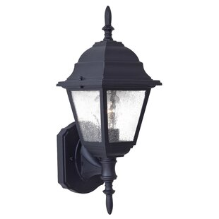 Deals Bay Hill 1-Light Outdoor Sconce By Great Outdoors by Minka