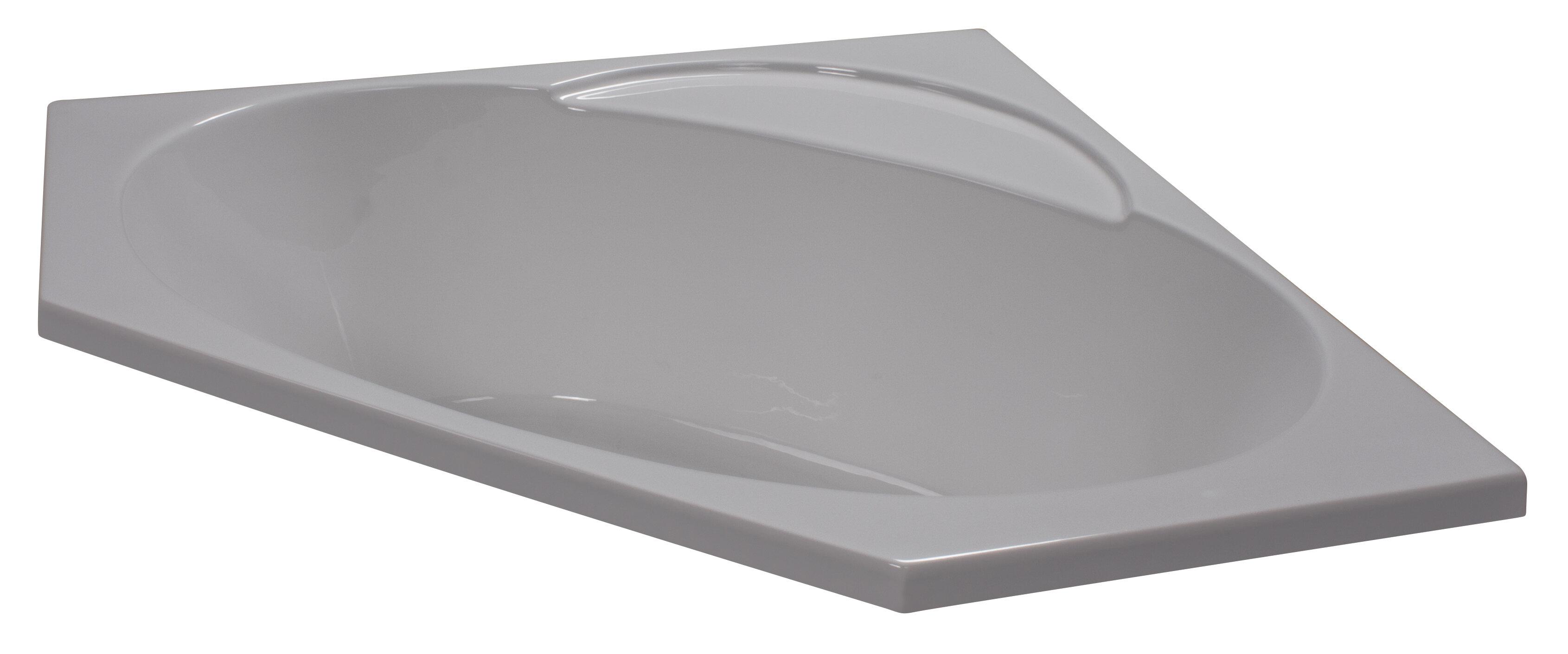 48 X 48 Soaker Corner Bathtub