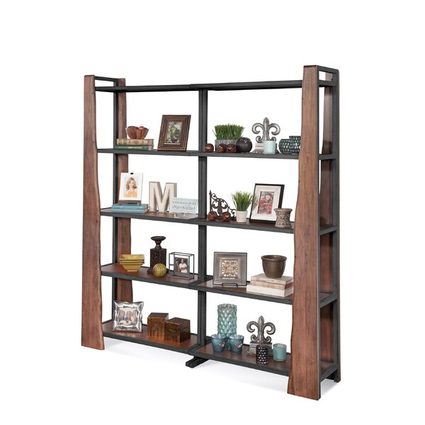 Runion Industrial Bunching Etagere Bookcase by Loon Peak