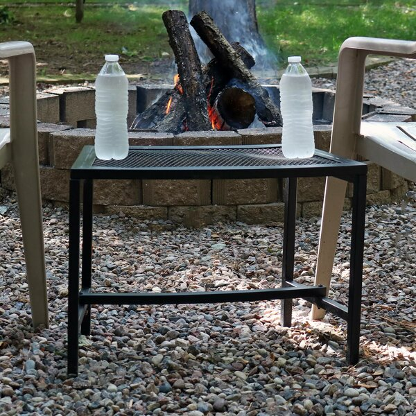 Shae Metal Side Table by Freeport Park