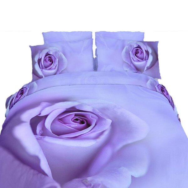 Bressler Rose 6 Piece Duvet Cover Set