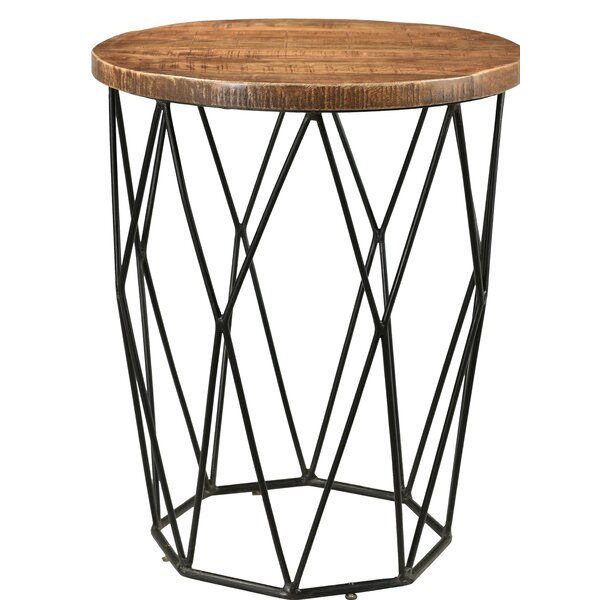 Hand End Table by Union Rustic