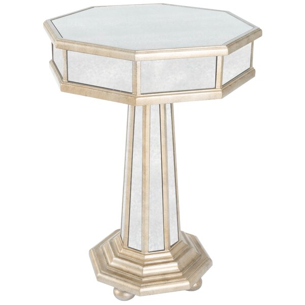 Apolline Pedestal End Table by Willa Arlo Interiors Willa Arlo Interiors