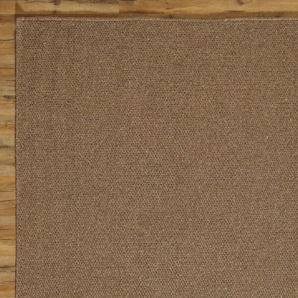 Ava Solid Rug, Chocolate by Birch Lane™