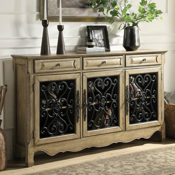 Ruyle Antique Hallway 3 Drawer Accent Cabinet by Astoria Grand