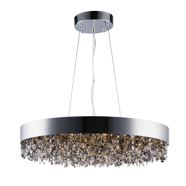 Sunnydale 22-Light LED Unique / Statement Drum Chandelier By Everly Quinn